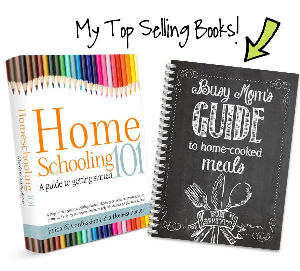 Homeschool Organization Course Bonus Books