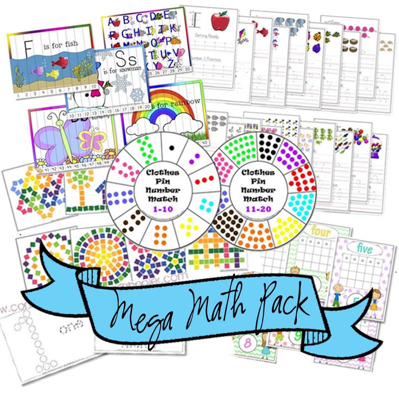 Mega Math Bundle